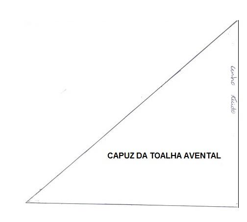 CAPUZ DA TOALHA AVENTAL